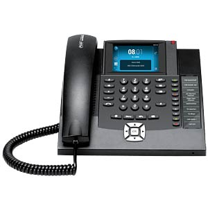 Android-based VoIP telephone, black AUERSWALD 90071