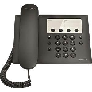 Telefon, schnurgebunden, schwarz TELEKOM 40245492