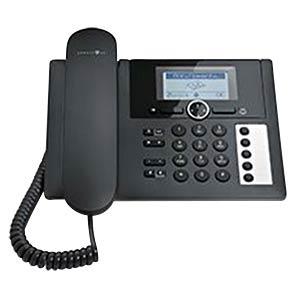Telefon, schnurgebunden, AB, schwarz TELEKOM 40255631