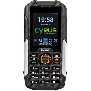Outdoor Mobiltelefon, wasserdicht, 5 MP Kamera CYRUS CM16