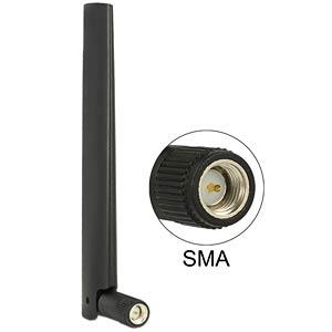 ZigBee Multi Antenne, SMA, Gelenk,schwarz DELOCK 88968