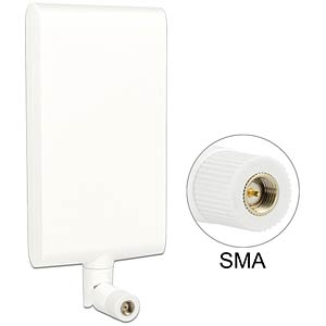 LTE aerial, SMA, white, joint DELOCK 88972