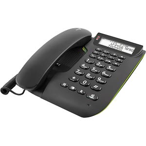 Corded phone with answering machine DORO 380113