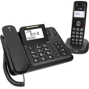 Combination telephone with answering machine DORO 380115