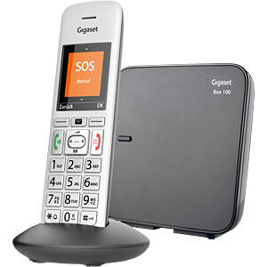 DECT telephone, 1 handset with base station GIGASET COMMUNICATIONS S30852-H2815-B103