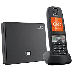 Telefon, 1 Mobilteil, AB, anthrazit GIGASET COMMUNICATIONS S30852-H2725-B101