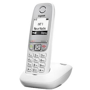 DECT-Telefon, 1 Mobilteil, weiß GIGASET COMMUNICATIONS S30852-H2505-B102