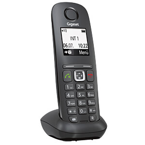 DECT CAT-iq Phone, anthrazit/schwarz GIGASET COMMUNICATIONS S30852-H2666-R101