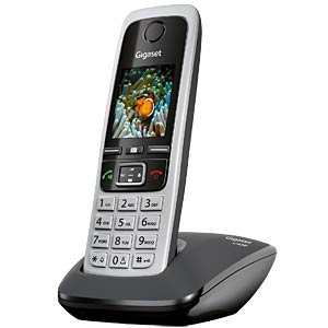 DECT telephone, 1 handset, black GIGASET COMMUNICATIONS S30852-H2502-B101