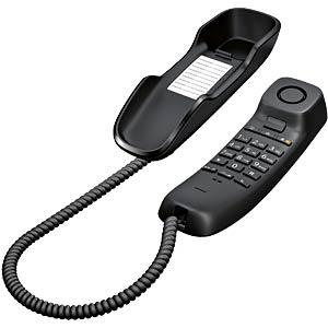 Telefon, schnurgebunden, schwarz GIGASET COMMUNICATIONS S30054-S6527-B101