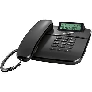 Telefon, schnurgebunden, schwarz GIGASET COMMUNICATIONS S30350-S212-B101