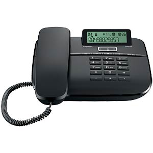 Corded phone, black GIGASET COMMUNICATIONS S30350-S212-B101