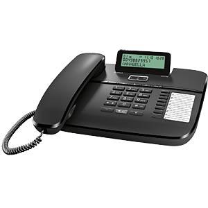 Telefon, schnurgebunden, schwarz GIGASET COMMUNICATIONS S30350-S213-B101