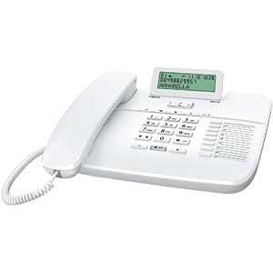 Telephone, with cord, white GIGASET COMMUNICATIONS S30350-S213-B102