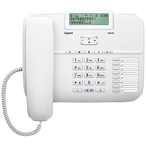 Telefon, schnurgebunden, weiß GIGASET COMMUNICATIONS S30350-S213-B102