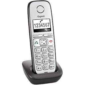 DECT handset, charging cradle, anthracite GIGASET COMMUNICATIONS S30852-H2351-B102
