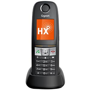 DECT Telefon, 1 Mobilteil mit Ladeschale, anthrazit GIGASET COMMUNICATIONS S30852-H2762-B101