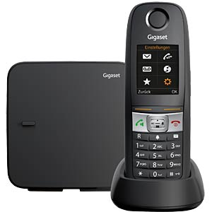 DECT-Telefon, 1 Mobilteil, anthrazit GIGASET COMMUNICATIONS S30852-H2503-B101