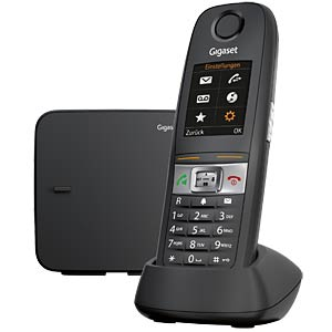 DECT telephone, 1 handset, anthracite GIGASET COMMUNICATIONS S30852-H2503-B101