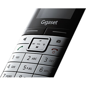 DECT Telefon, 1 Mobilteil mit Ladeschale, AB GIGASET COMMUNICATIONS S30852-H2122-B111