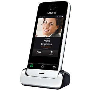 DECT Telefon, 1 Mobilteil mit Ladeschale, Full-Touch-Display GIGASET COMMUNICATIONS S30852-H2370-B101