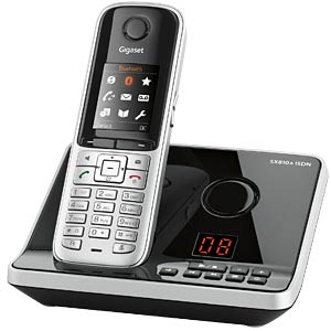 ISDN cordless phone with answering machine GIGASET COMMUNICATIONS S30853-H433-B101