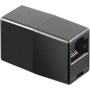 GOOBAY 50260 - Modular Adapter mit zwei Modularbuchsen 8-8