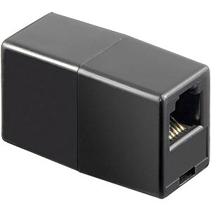 Modular adapter with two modular female connectors 6-6 FREI