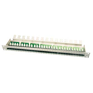 "19"" ISDN patch panel, 25-way FREI"