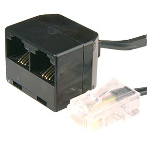 ISDN multiport splitter, 2-way FREI