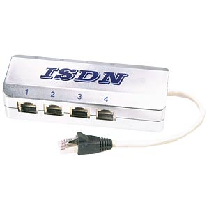 ISDN multiport splitter, 8-way FREI