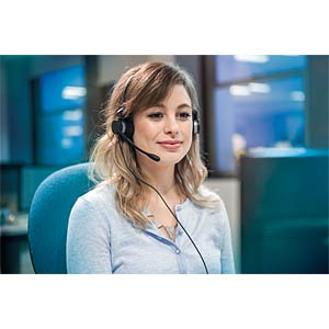 Contact-Center-Headset, stereo JABRA 2399-823-109