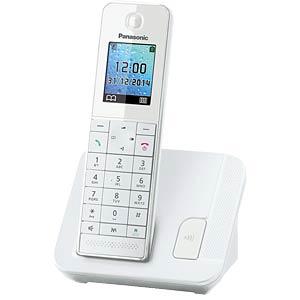 DECT Telefon, 1 Mobilteil mit Ladeschale PANASONIC KX-TGH210GW