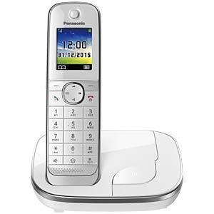 DECT Telefon, 1 Mobilteil mit Ladeschale PANASONIC KX-TGJ310GW