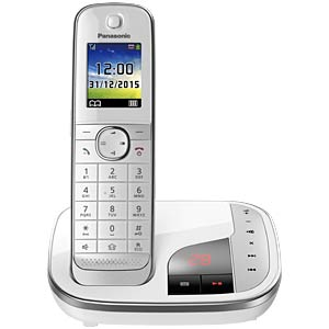 Premium telephone with answering machine and colour display PANASONIC KX-TGJ320GW