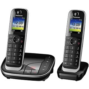 Premium telephone with answering machine and colour display PANASONIC KX-TGJ322GB