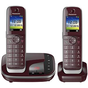 Premium telephone with answering machine and colour display PANASONIC KX-TGJ322GR