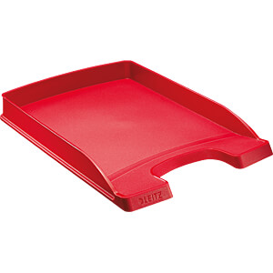 Briefkorb A4 Plus, flach, rot LEITZ 52370025