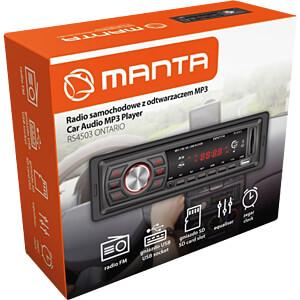 Autoradio mit USB / SD-Card-Slot  RS4503