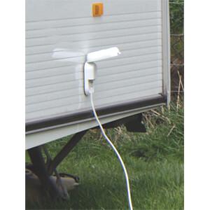 Antennendose, außen, Sat & terrestrisch, weiß MAXVIEW 5026 / B2008