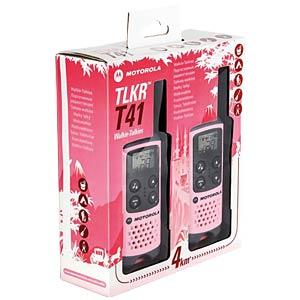 PMR Funkgerät, 2-er Set, pink MOTOROLA 188041
