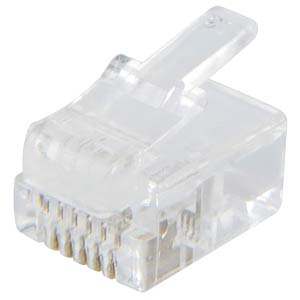 Modular plugs RJ12, Contacts 6, Equipped 6 FREI