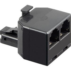 Modular Adapter 6 / 4, 1 male to 2 female FREI