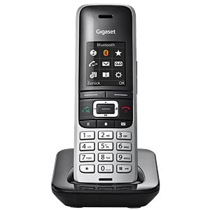 DECT-Mobilteil, Ladeschale, platin/schwarz GIGASET COMMUNICATIONS S30852-H2669-B101