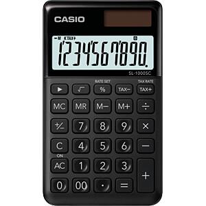 CASIO SL1000SCBK - Casio Taschenrechner