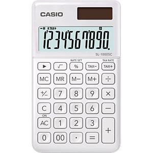 CASIO SL1000SCWE - Casio Taschenrechner