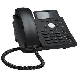 VoIP Telefon, schnurgebunden, schwarz SNOM 4257