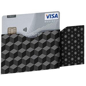 RFID-Schutzhüllen, Card Dark Cube Horizontal SOOMZ.IO RS C DK CB HT