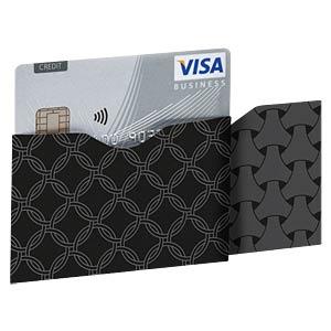 RFID-Schutzhüllen, Card Dark Ring Horizontal SOOMZ.IO RS C DK RG HT