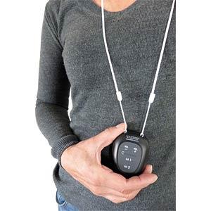 DECT Telefon, 1 schnurgebunden, 1 Mobilteil, 1 Pendant, AB, schw SWITEL DCT64072 CP CRYSTAL